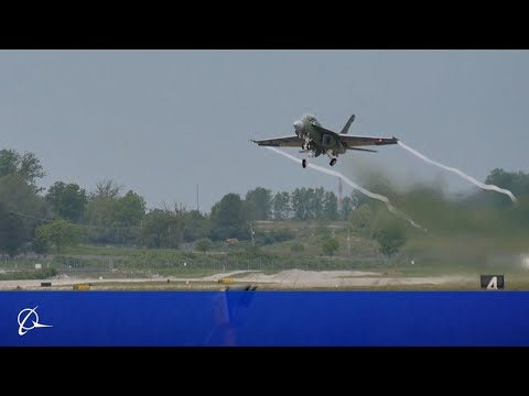 Boeing Super Hornet Block III Test Jet Takes Flight