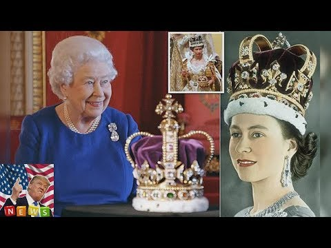 St Edwards Crown was used by Archbisho The Queen is reunited with the glittering St Edwards Crown