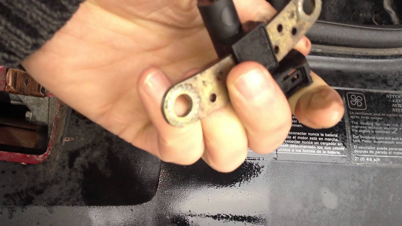 Renault Trafic Ecu Wiring Diagram Switch Wire Clio Not Starting Crankshaft Position Sensor Problem Youtube