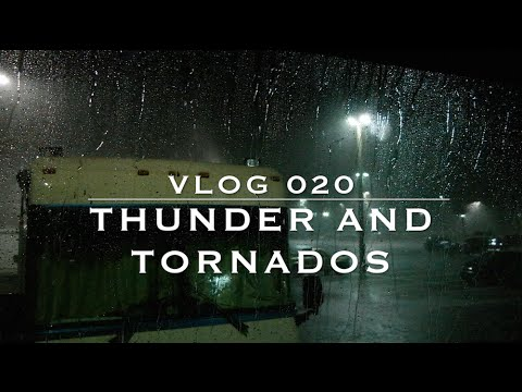 Tornado Warning + Severe Weather in an RV