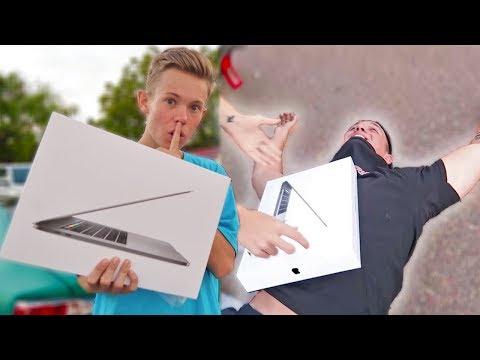 BUYING MY BESTFRIEND HIS DREAM COMPUTER!!! *INSANE REACTION*