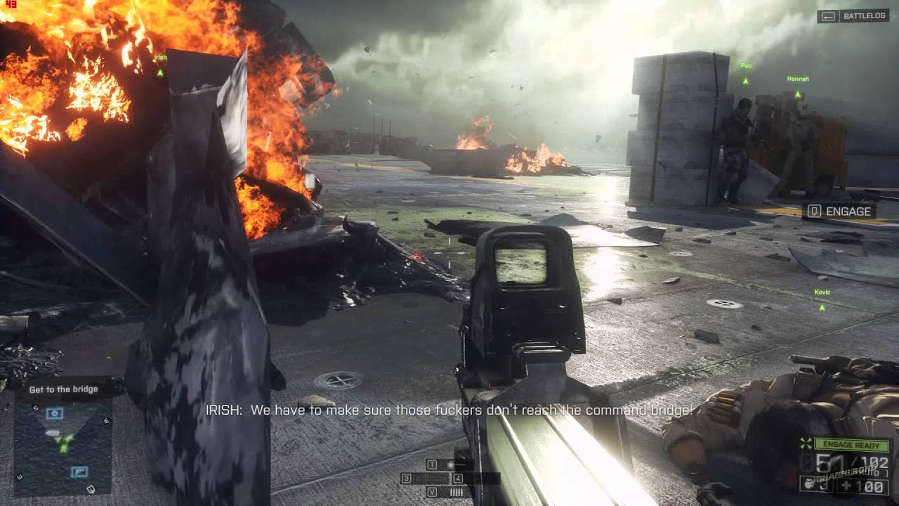 BF 4 Extreme settings on ASUS Nvidia GeForce GTX 780 Ti