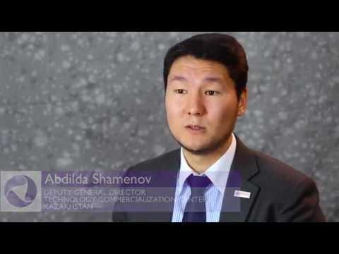 Abdilda Shamenov on Technology Commercialization in Kazakhstan