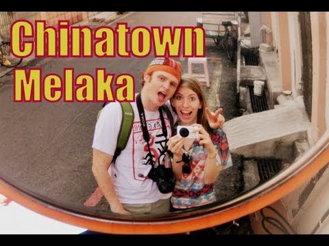 Wandering around and exploring Chinatown in the heart of Malacca (Melaka), Malaysia Travel Video
