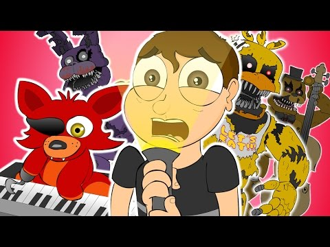 ♪ FIVE NIGHTS AT FREDDY'S 4 THE MUSICAL - Animation Song