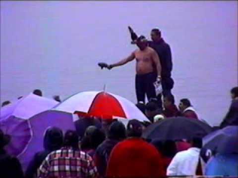 Makah Whale Hunt 1999