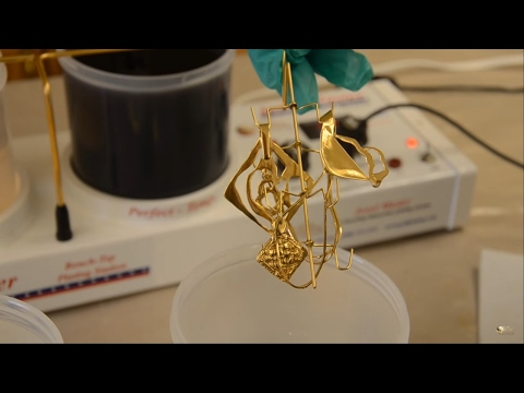 "Gold Plating Jewelry - Gold Plating Kit - ""The JewelMaster Pro"""