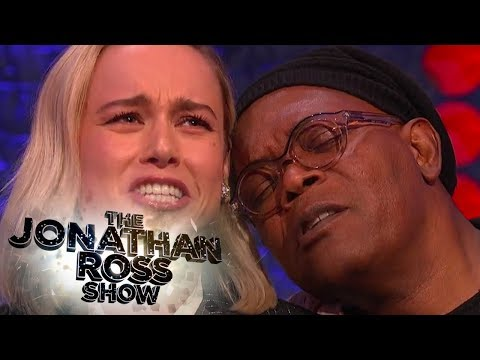 Brie Larson and Samuel L Jackson Sing Shallows - The Jonathan Ross Show
