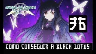 SWORD ART ONLINE LOST SONG #36  -BLACK LOTUS Y COLISEO-