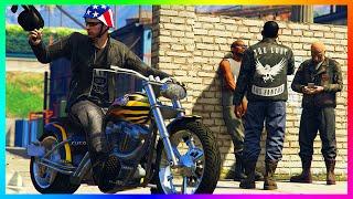 GTA ONLINE FREEMODE BECOMING A BIKER, CUSTOMIZING BIKES, MOTORCYCLE GANG WARS & MORE! (GTA 5)