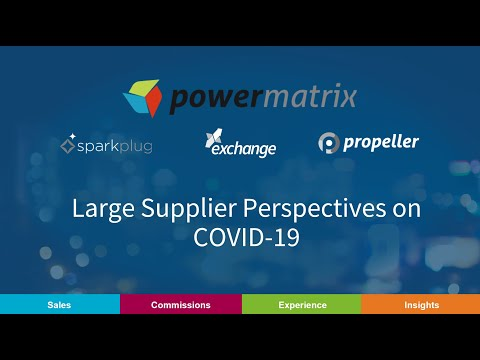 Large Supplier Perspectives on COVID-19