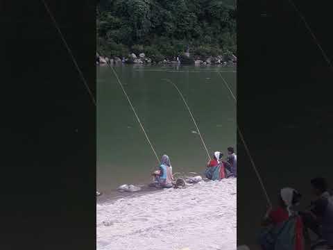 Fishing In Meghalaya