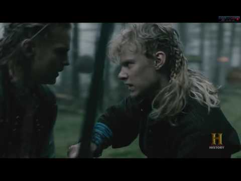 Ivar the Boneless competing with his brothers