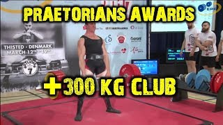 PRAETORIANS AWARDS +300 KG CLUB