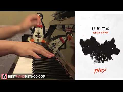THEY - U-RITE (Rynx Remix) (Piano Cover by Amosdoll)