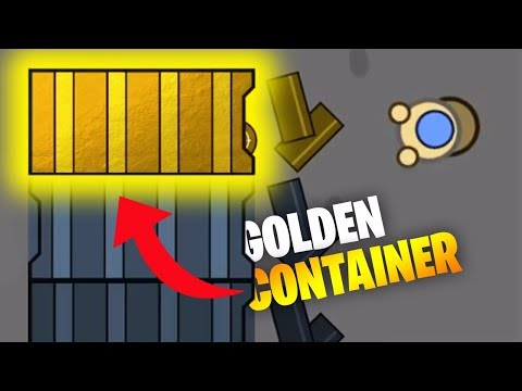 *RARE* GOLDEN CONTAINER! // Surviv.io