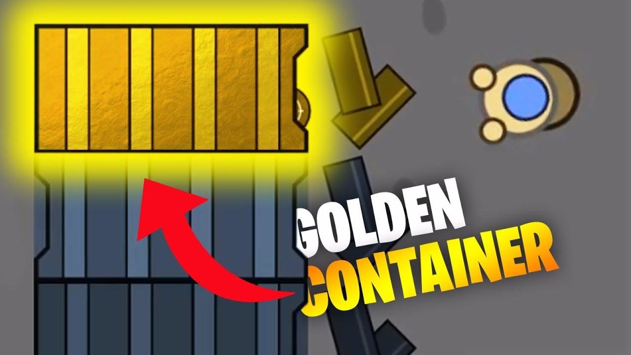 *RARE* GOLDEN CONTAINER! // Surviv io