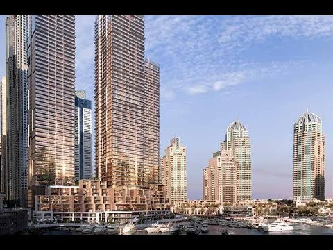 This is the newest tower in Dubai Marina's tallest block