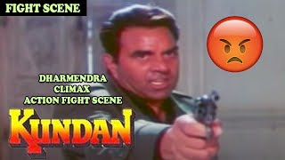 vuclip Dharmendra Climax Action Fight Scene | Kundan Movie