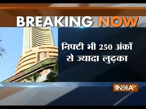 Sensex, Nifty Tumble Over 3%; China Jolts World Markets - India TV