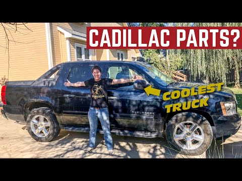 I Used CADILLAC Parts To FIX This Chevy AVALANCHE