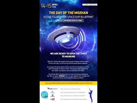 Spaceship Blueprint Day - Day of Mozhan - 2018-04-15 (Sunday)
