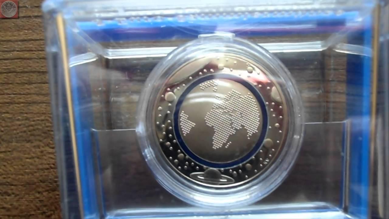 Neue 5 Euro Münze 2016 Blauer Planet Polierte Platte Youtube