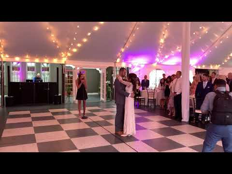 13 Year Old Ava Staffieri Steals The Show Singing Is That Alright? (Lady Gaga) For First Dance