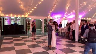 13 Year Old Ava Staffieri Steals the Show Singing Is That Alright? (Lady Gaga) for First Dance Video