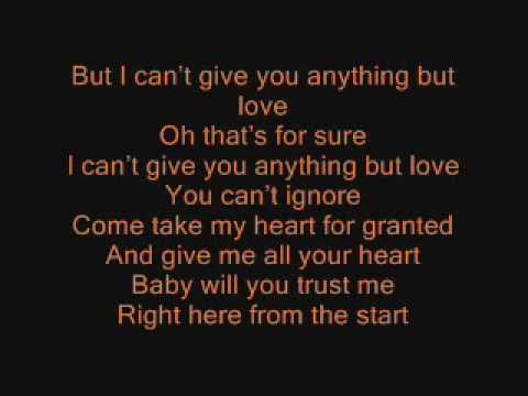 Daniel Schuhmacher - Anything But Love ( Lyrics/Songtext )