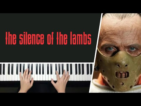 The Silence of the Lambs Theme by Howard Shore - Piano Cover