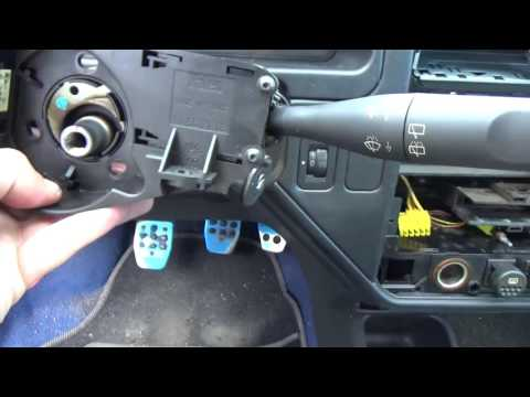How to disassemble peugeot 106 dashboard - Heater matrix radiator replacement part1