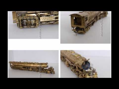 Ruby Gem Olympia Big Boy 4-8-8-4 Union Pacific Rare Brass Model Locomotive