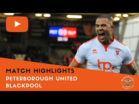 Match Highlights | Peterborough United 0 Blackpool 1