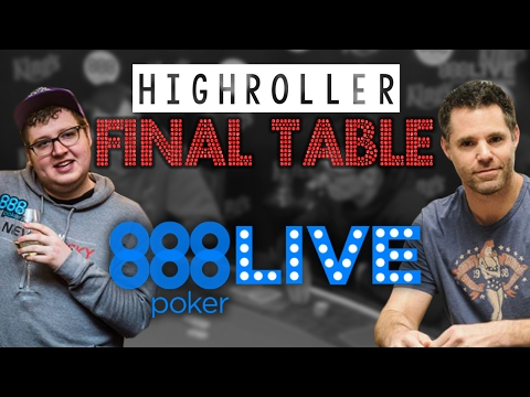 FINAL TABLE: $5000 Highroller at 888live Kings Casino Rozvadov