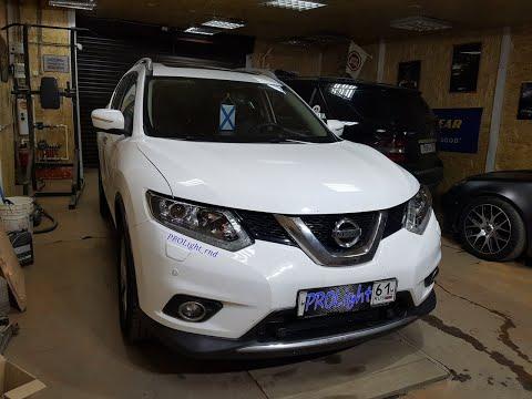 Nissan X-Trail. Установка Hella 3R. Кто говорил, что не влезут? Лучший свет в своём классе.