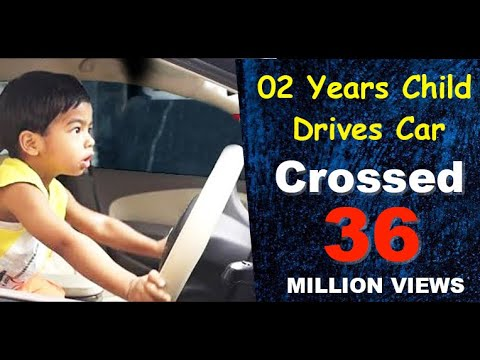 Child Drives Car | A Small Kid Driving a Real Car | Unexpected Driving
