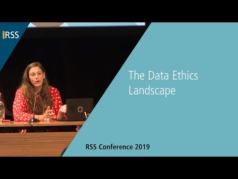 The Data Ethics Landscape