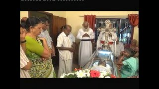 Live  Telecast :funeral service of Adv. RONY OOMMEN, THALAVADY MAMMOOTTIL, TIRUVALLA PART 1