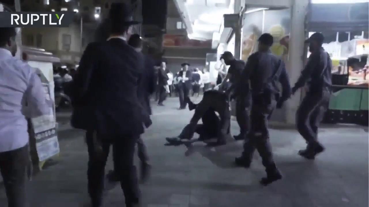 Israel  Ultraortodoxos protestan contra el servicio militar obligatorio c74c9ca71f3