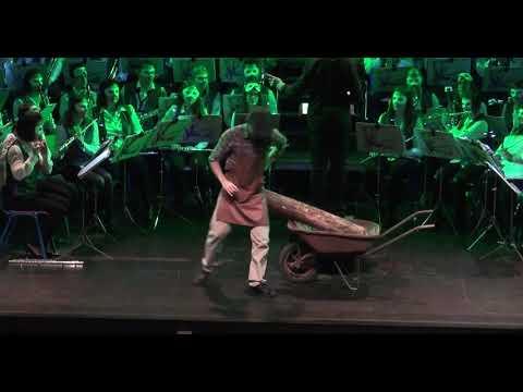 Spectacle 2018 : Pinocchio par la Caecilia Wind Orchestra de Paliseul