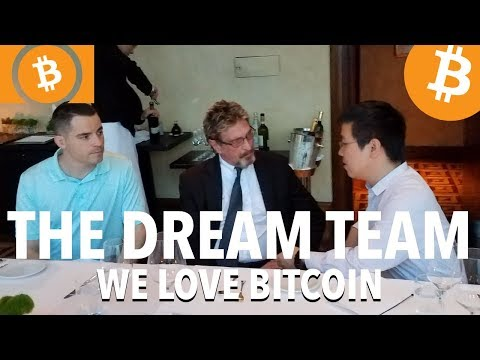 The Bitcoin / Bitcoin Cash Dream Team | Roger Ver, Jihan Wu, Craig Wright, John McAfee...