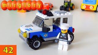 Полицейский, джип - мультфильм про машинки - Город машинок 42 серия. Развивающие мультики mirglory