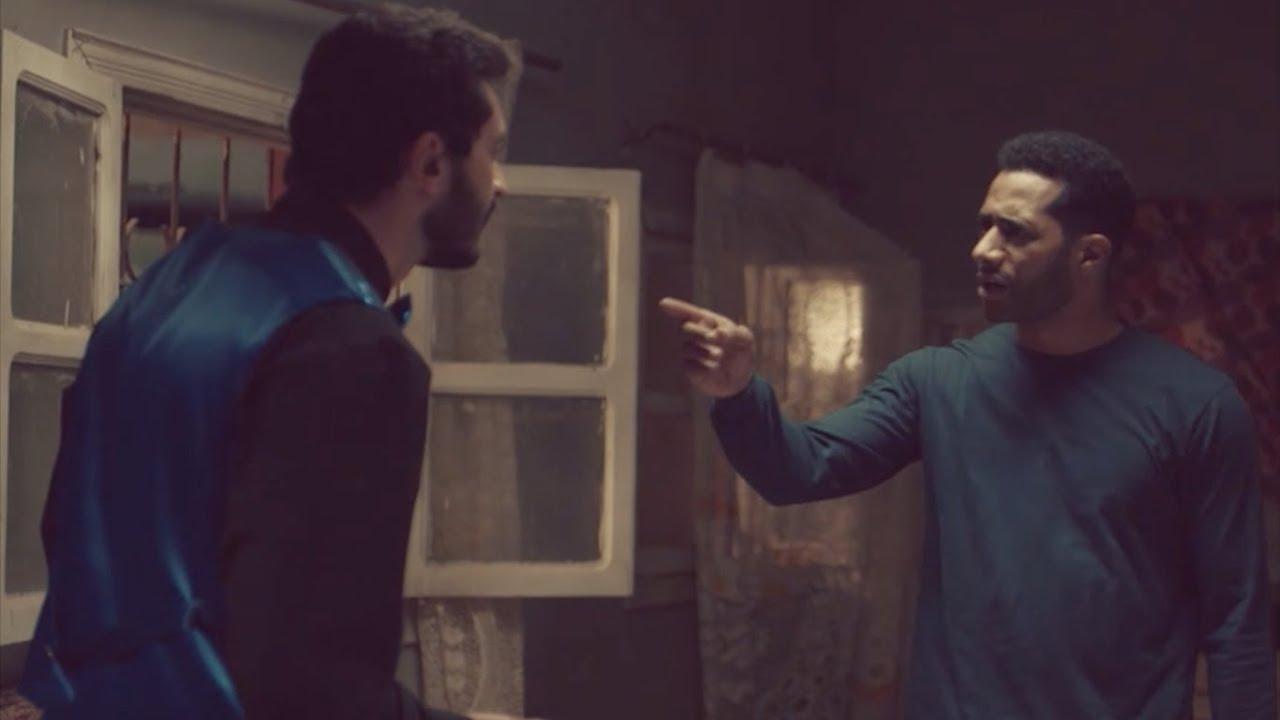 عتاب أسامة لزلزال علي الي عمله في فرح أمل / مسلسل زلزال - محمد رمضان