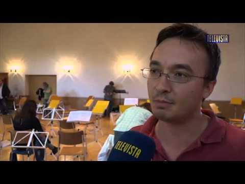 Interview im Televista 2015.10.04 Orchester Wallisellen: neuer Konzertmeister