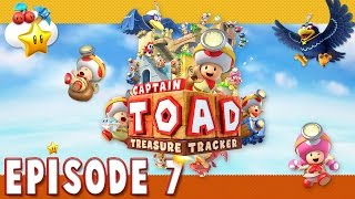 Épisode 7 - En avant, marche, Toadette ! [Série] Captain Toad : Treasure Tracker
