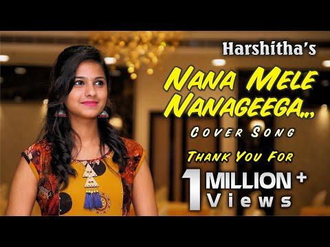 Nanna mele nanageega album cover song by Harshitha