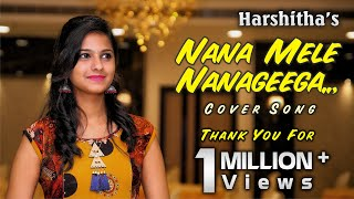 Nanna mele nanageega album cover song by Harshitha
