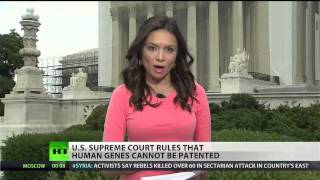 Supreme Court says human genes cannot be patented