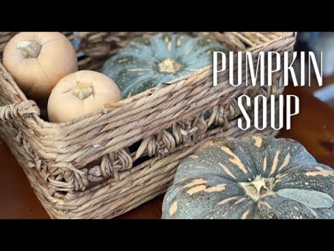 Saving Pumpkin Seeds & Make Pumpkin Soup